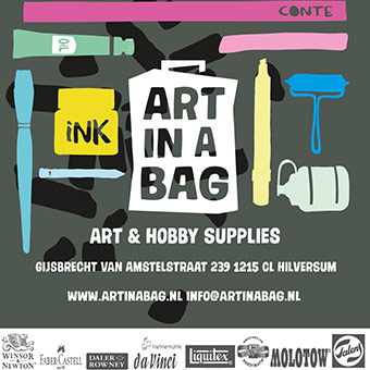 Art in a bag, kunstsluppies
