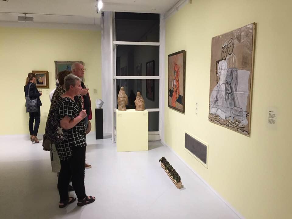 Opening expositie in Museum Hilversum
